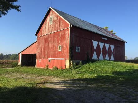 Barn with Red Siding