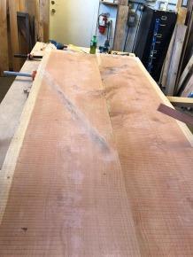 redwood slabs